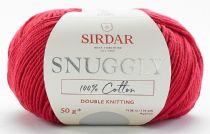 Sirdar Snuggly 100% Cotton DK 50g - 754 Red